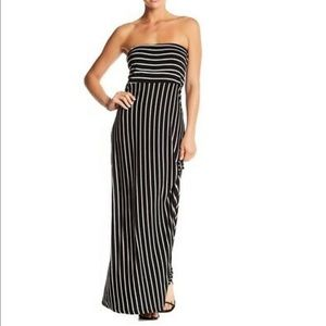 NWT West Kei Strapless Maxi Dress